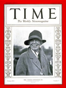 Louise Hitchcock covering Time Magazine
