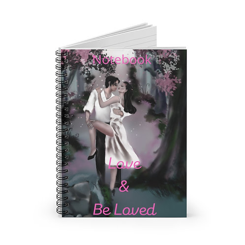 Be Loved Spiral Notebook - Ruled Line