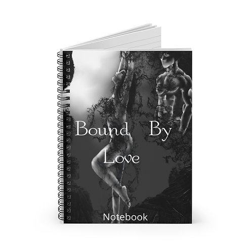 Bound By Love Spiral Notebook - Ruled Line