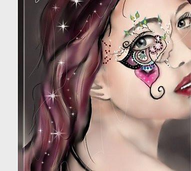 Now doing Custom digital paintings.