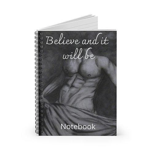 Shameless Spiral Notebook - Ruled Line