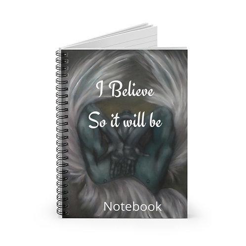 Angel Dreams Spiral Notebook - Ruled Line