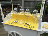 Candy Cart Hire Cart withGlassware Only