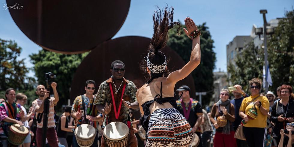 סדנת ריקוד אפריקאי