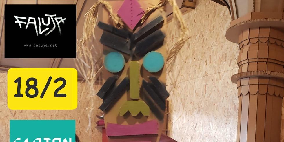 ספיישל פורים - בניה בקרטון עם איתמר פלוג'ה