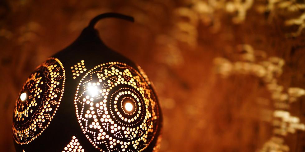 סדנת העמקה ליצירת גופי תאורה מדלעות נוי