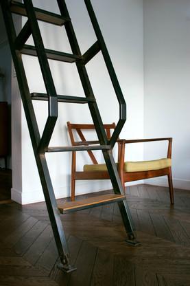 Projet Beaumarchais - détail escalier