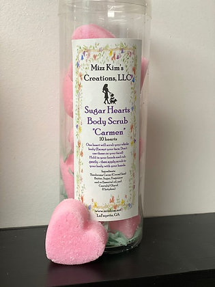 Sugar Hearts Body Scrub