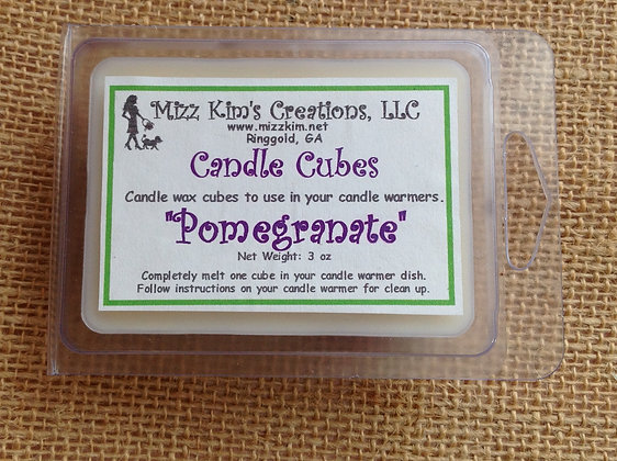 Soy Candle Cubes