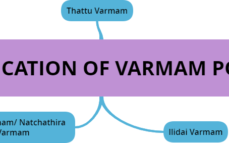 CLASSIFICATION OF VARMAM POINTS