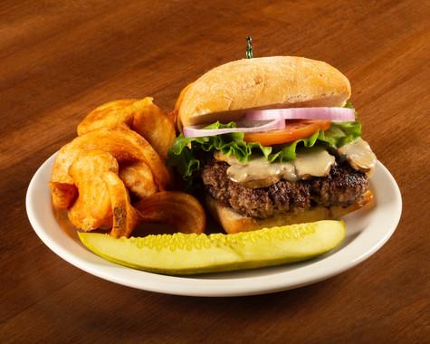 1/2lb Burger at BIGBAR
