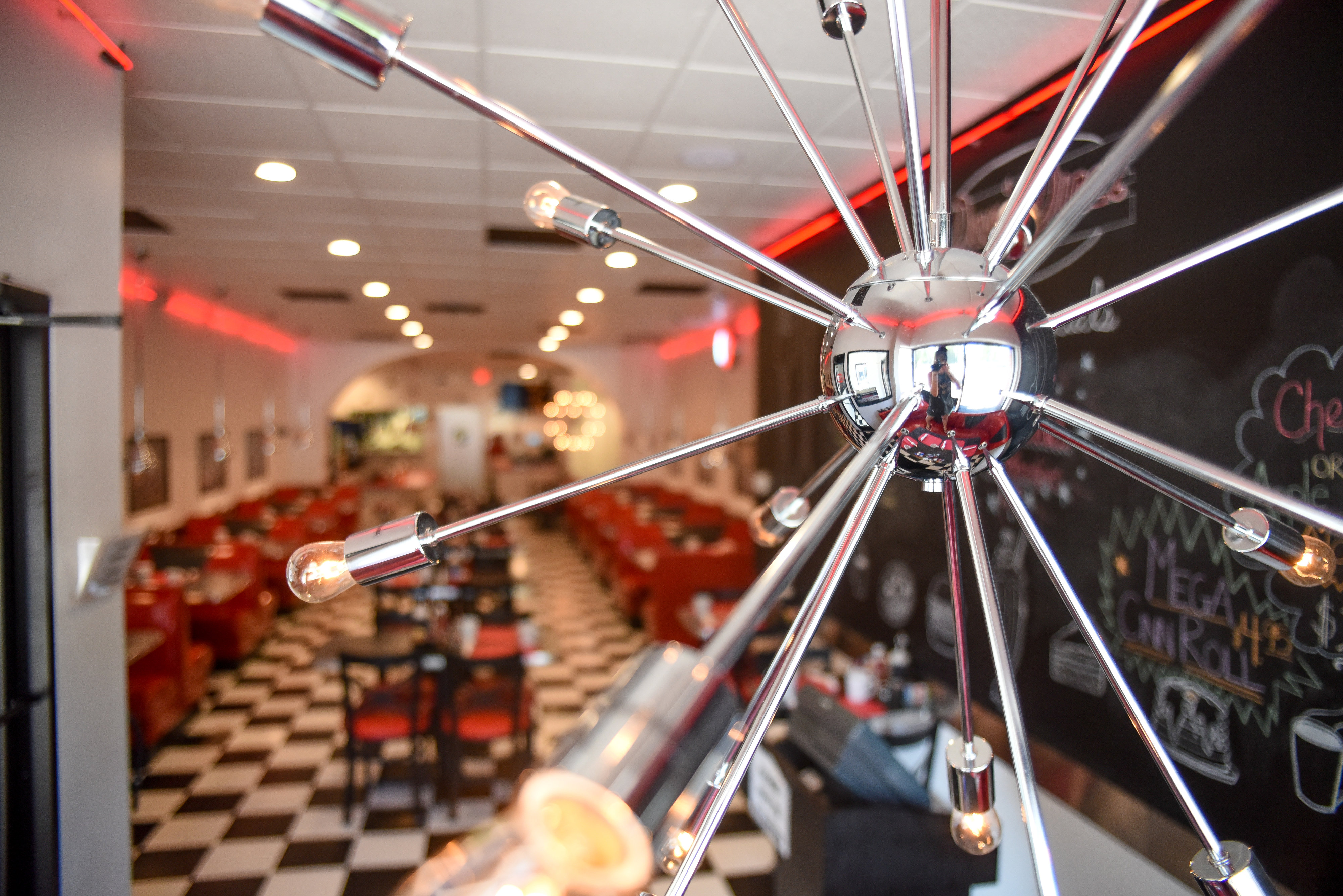 Dave's Diner Interior