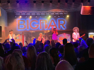Disco Inferno on the BIGBAR Stage
