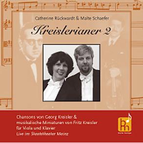 CD Kreislerianer Malte Schäfer/Catherine Rückwardt