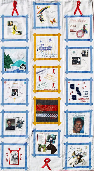 AIDS Quilt - AIDS Outreach of NAZ