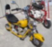 APC mini bike & Sears 803 mini bike.jpeg