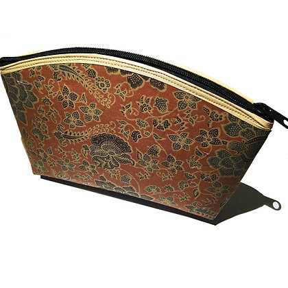 "Pochette Gigogne ""rectangle"", motifs floraux"