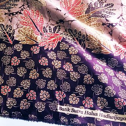 Batik Javanais Imprimé en soie+polyester.
