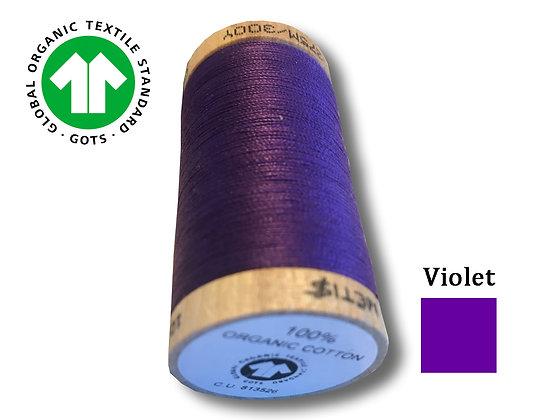 Fil Coton Bio Violet