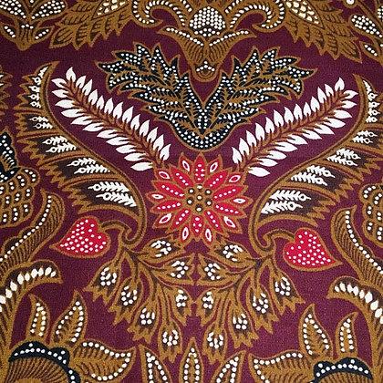 Batik Indonésien, 100% coton.