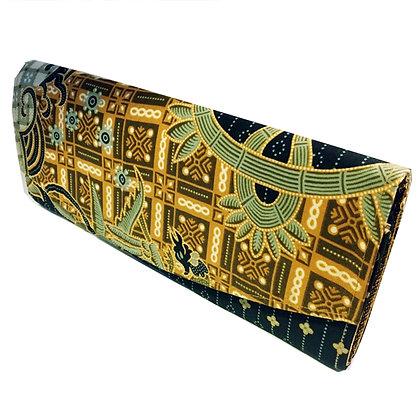 Pochette Portefeuille Batik