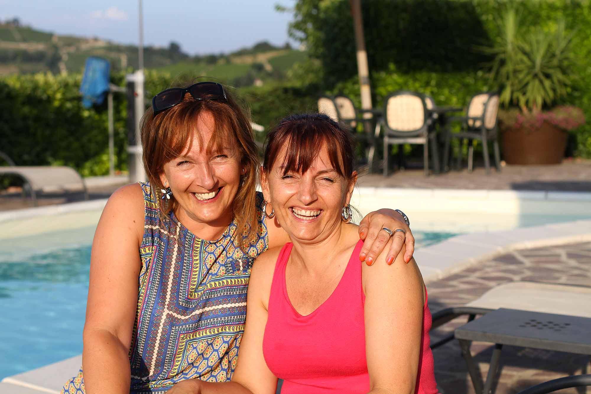 Claudia e Laura
