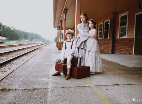 Marie Belle Couture - A Railway Tale