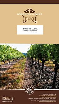 Cavin de 10L de Rosé de Loire