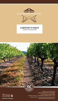 Cavin de 10L de Cabernet d'Anjou