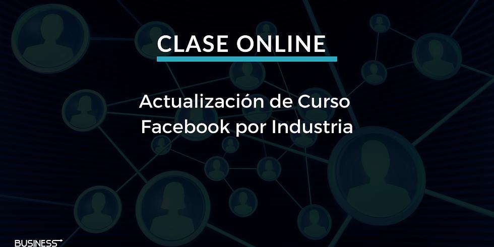Educación Continua: Facebook por Industria