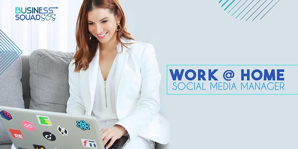 WORK@HOME be a Social Media Manager/Facebook Specialist 9na. Edición