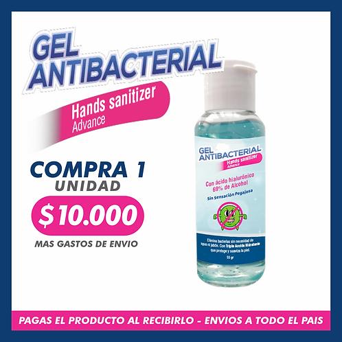 Gel Atibacterial Hands Sanitizer Advanced - 60 Ml