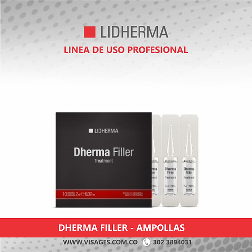 DHERMA FILLER TREATMENT - 10 AMPOLLAS DE 2CC
