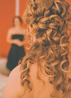 Fotografiranje vjenčana frizura