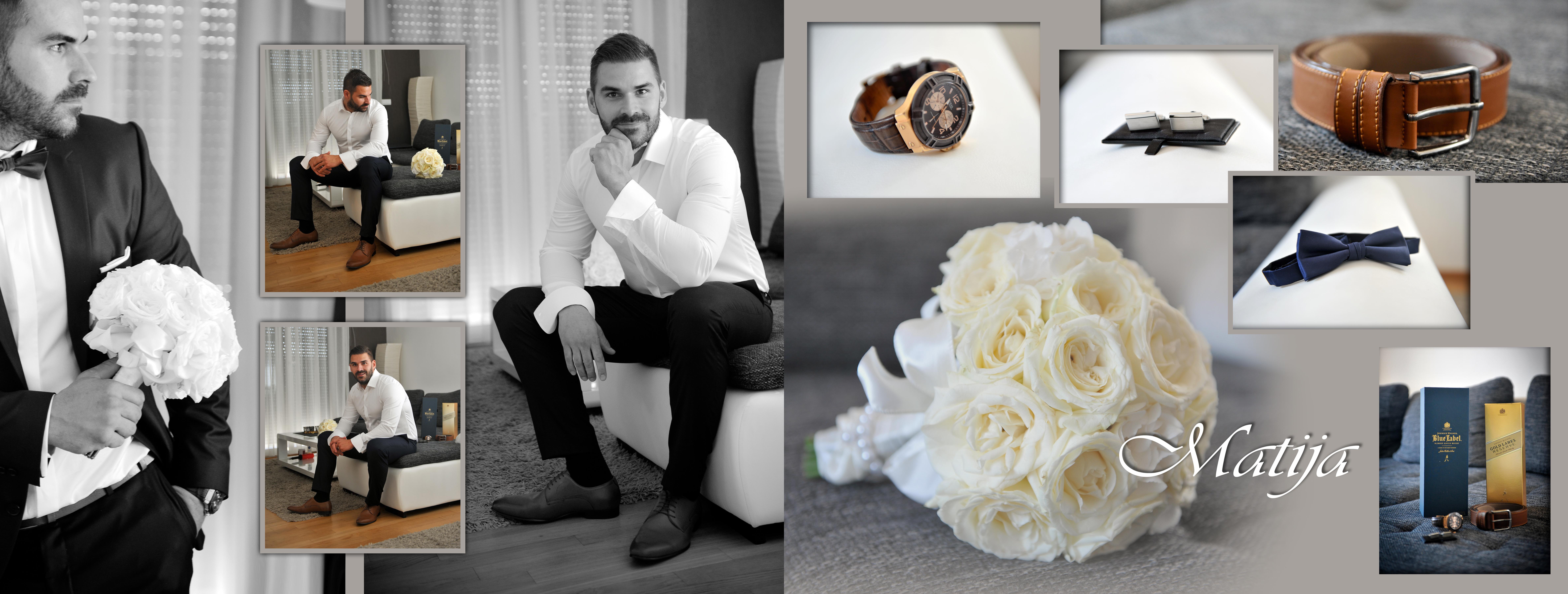 Fotograf za vjenčanje, wedding book