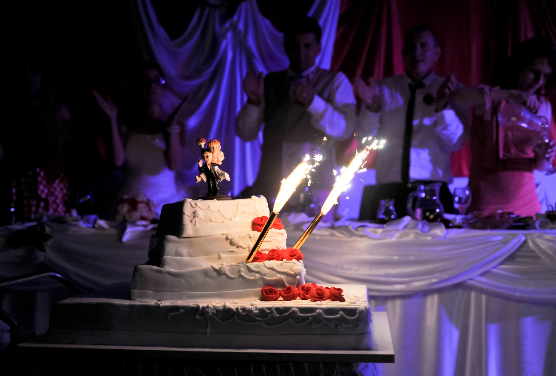 Fotografiranje svadbena torta