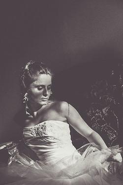 Mladenka, poziranje, vjenčanica