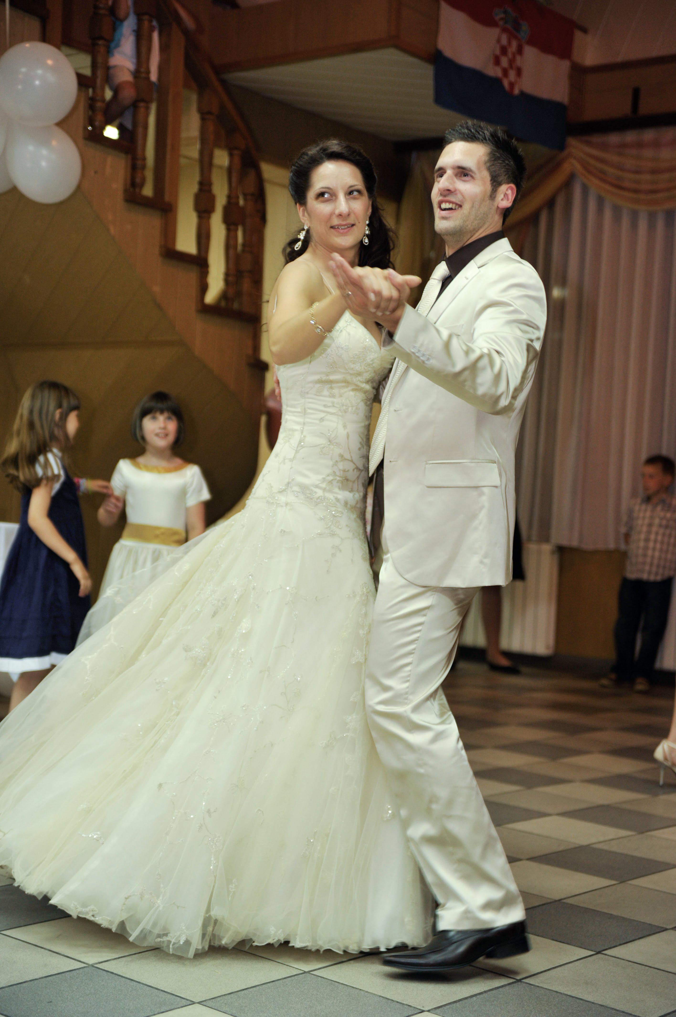 Fotografiranje prvi ples