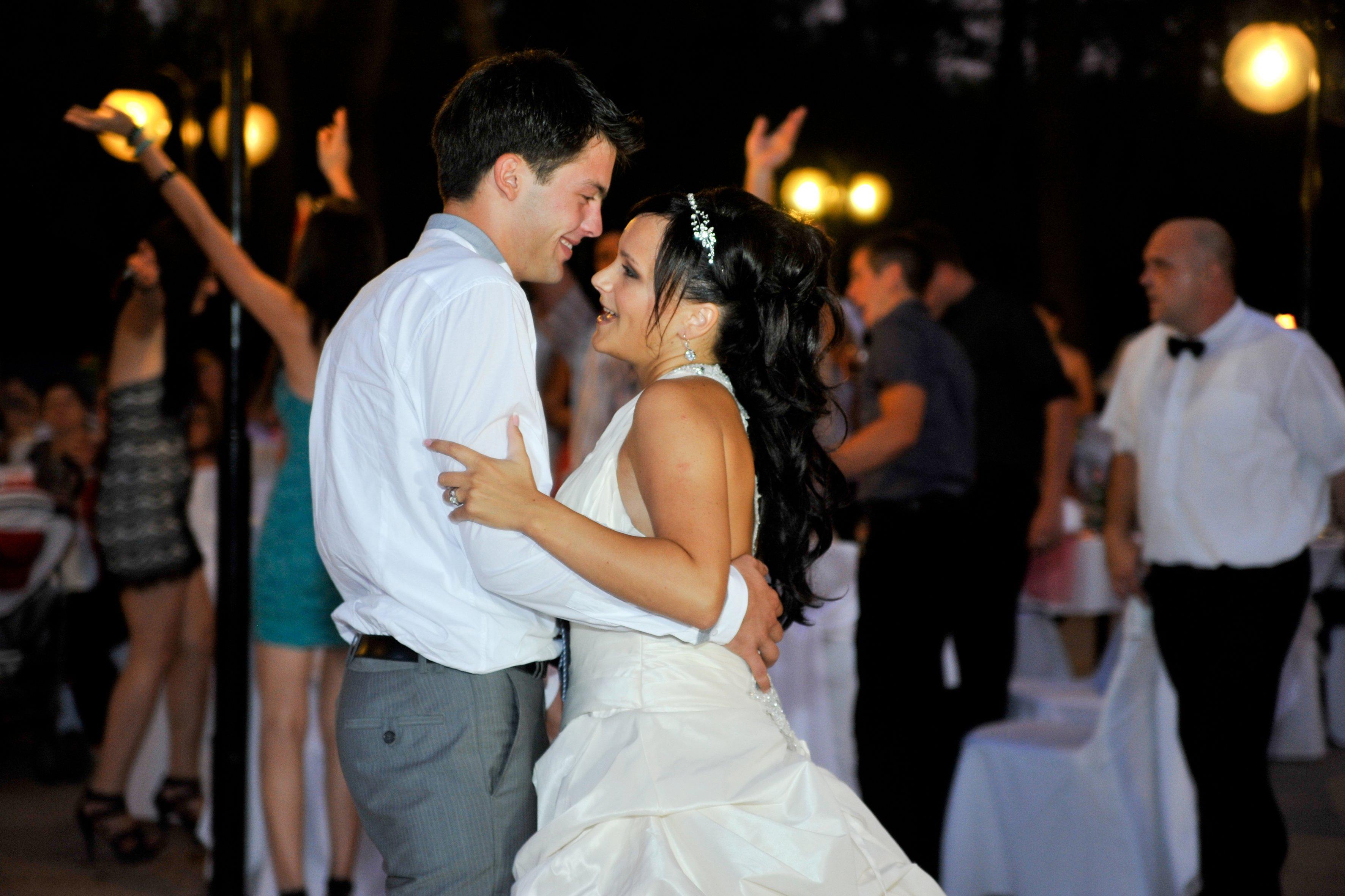 Fotografiranje vjenčanja prvi ples