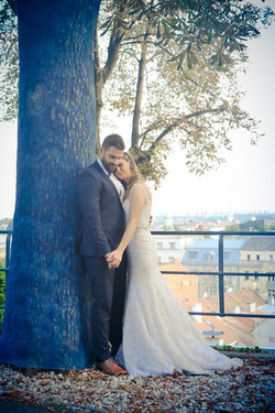 Fotografiranje vjenčanja poziranje