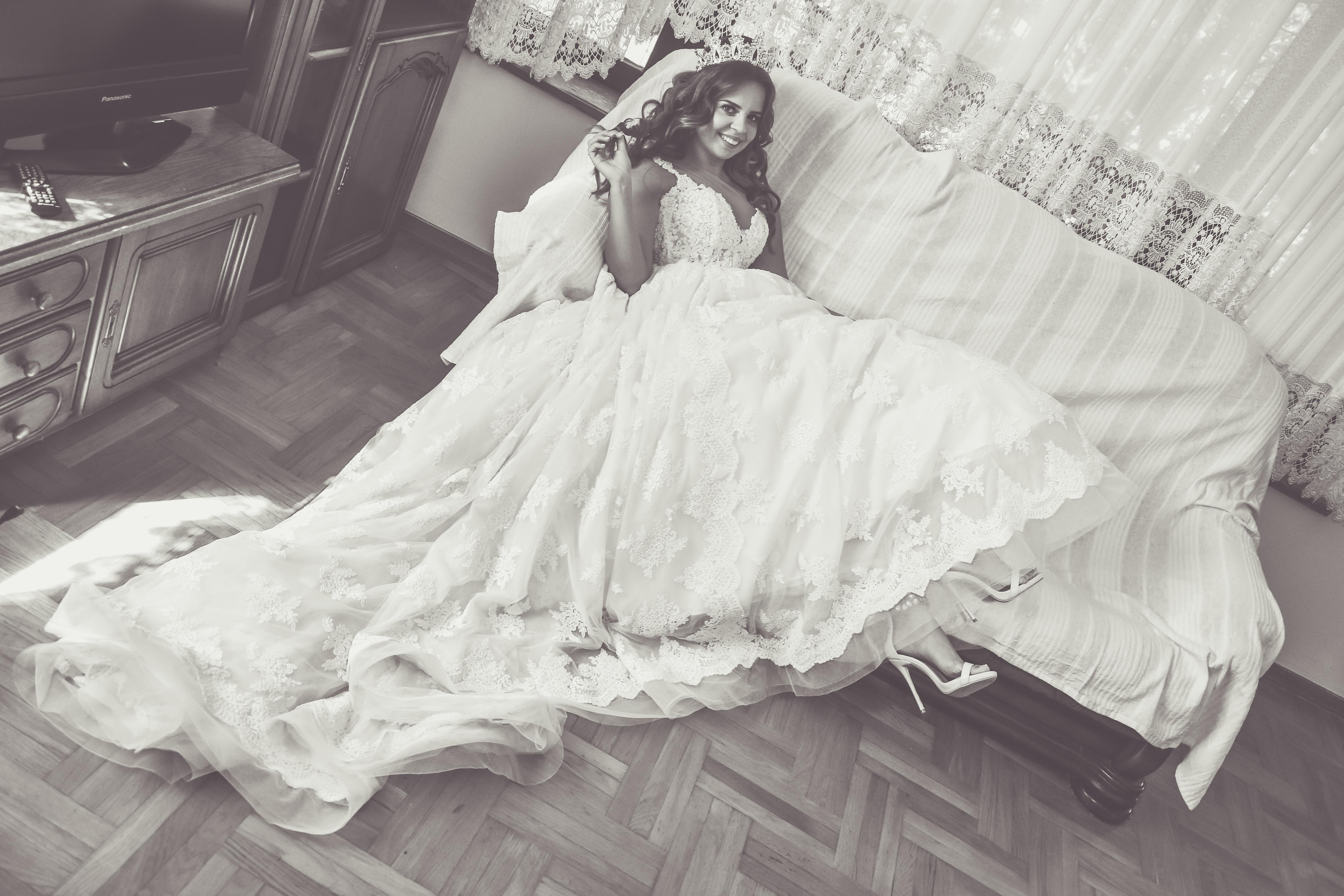Mladenka, pripreme, vjenčanica