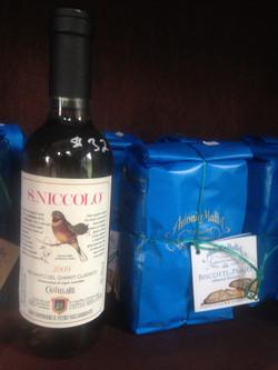 Vin Santo & Cantuccini