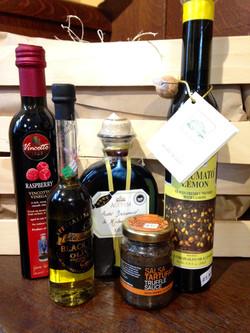 Vinegars, Oils, and Truffle Spread
