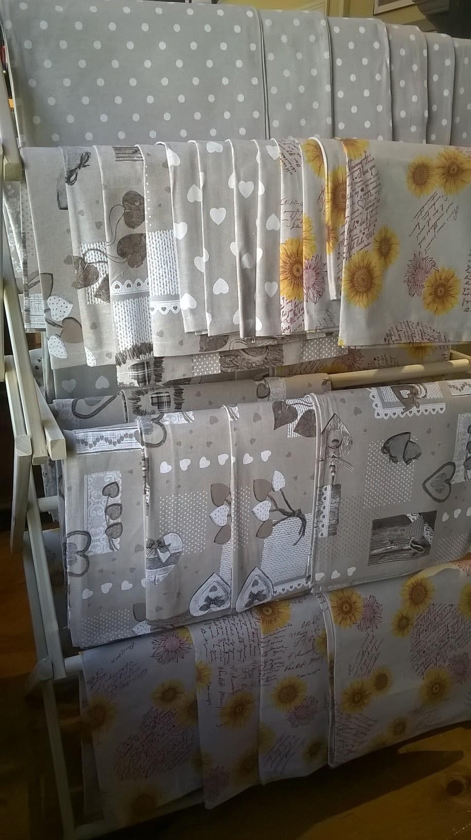 Handprinted Linens