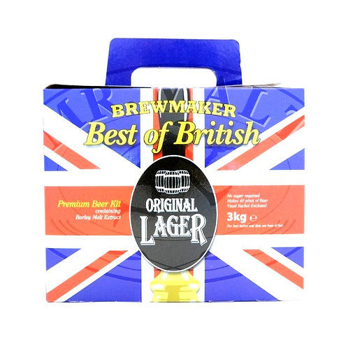 BREWMAKER BEST OF BRITISH ORIGINAL LAGER