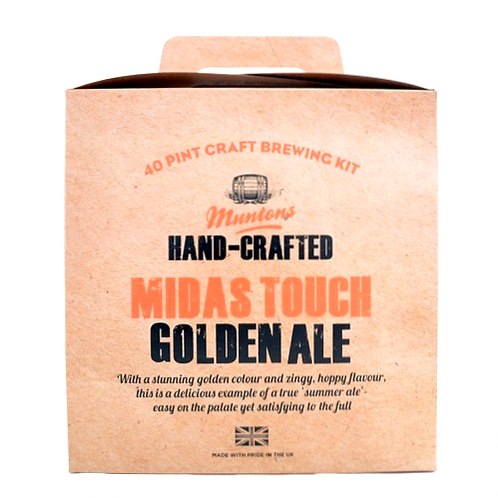 MUNTONS GOLDEN ALE (hand-crafted)