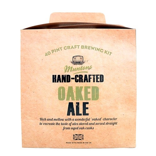 MUNTONS OAKED ALE (hand-crafted)
