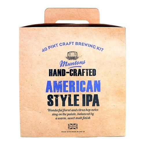 MUNTONS AMERICAN STYLE IPA (hand-crafted)