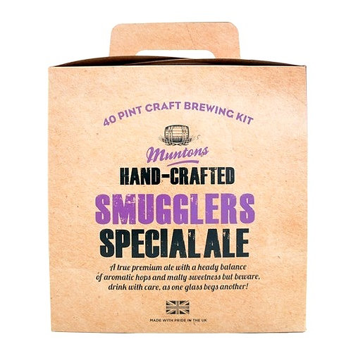 MUNTONS SMUGGLERS SPECIAL ALE (hand-crafted)