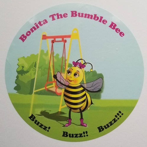 Bonita The Bumblebee Stickers